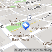 Map Colin K. Kurata Counselor at Law Honolulu, United States