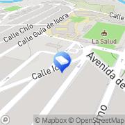 Map Cerrajería Pérez Santa Cruz de Tenerife, Spain
