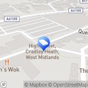 Map B.B. Price Limited Cradley Heath, United Kingdom