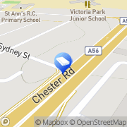 Map M I Banks Solicitors Manchester, United Kingdom