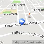 Map Notaría Eduardo Echeverría Soria Santa Maria del Aguila, Spain