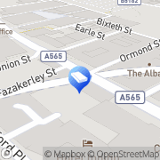 Map USP Creative Liverpool, United Kingdom