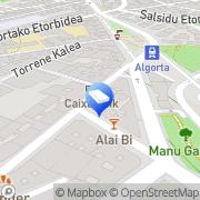 Map Instalaciones Madariaga Algorta, Spain