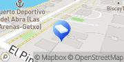 Map Gestboes Areeta, Spain