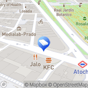 Map Reforma Marketing Madrid, Spain