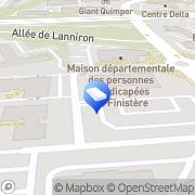 Carte de Corre - Finance Et Strategies Quimper, France
