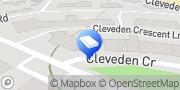 Map Western Lettings Glasgow, United Kingdom