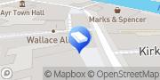 Map CleanAyr Ayrshire, United Kingdom