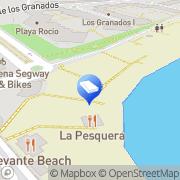 Map Spain ForSale.Properties Málaga, Spain