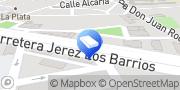 Kartta Norsur Los Barrios, Espanja