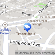 Map Two Men and a Truck Brookline, United States