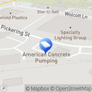 Map American Concrete Pumping Portland, United States