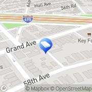 Map Maspeth Press Flushing, United States