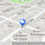 Map Dimola Printing Shop Brooklyn, United States