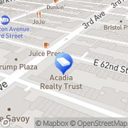 Map 200 E 62 NY New York, United States