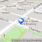 Map Silver Shield Security New York, United States
