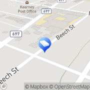 Map Bluebell Relocation Services Kearny, United States