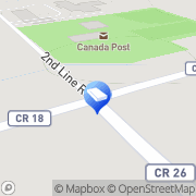 Map Franklin General Contracting Lancaster, Canada