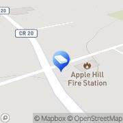 Map Carl's Auto Body Apple Hill, Canada