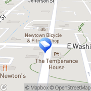 Map Mozart Lock Security Newtown, United States