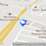 Map Two Men and a Truck Warrington, United States