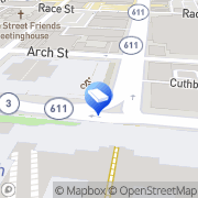 Map Street Sanitation Dept Philadelphia, United States