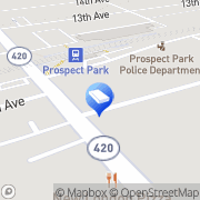 Map McCausland Lock Service Prospect Park, United States