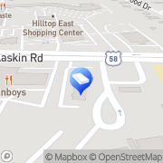 Map LAW OFFICE OF SCOTT R BARNEY E Virginia Beach, United States