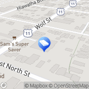 Map Angelo Chiodo Heating & Air Conditioning Syracuse, United States