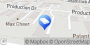 Map Peacock Business Solutions Yorktown, United States