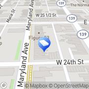 Map James R Logan PA. Baltimore, United States