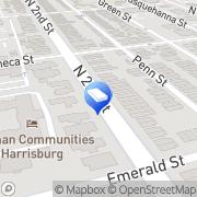 Map Cunningham, Chernicoff & Warshawsky, P.C. Harrisburg, United States