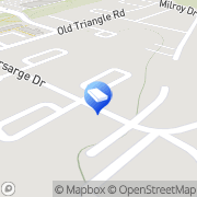 Map J B Leech Construction Dumfries, United States