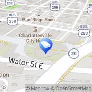 Map Luxury Shower Trailers Virginia Charlottesville, United States