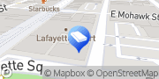 Map Accelerate Now Law Firm Marketing Buffalo, United States