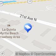 Map Coastal Media Brand Myrtle Beach, United States