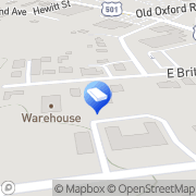 Map D&H Appliance Service Durham, United States