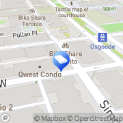 Map Corporate Furnished Apartments Toronto Toronto, Canada