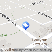 Map First Flight Agency Southern Pines, United States