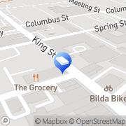 Map Robertson Hollingsworth and Flynn Charleston, United States