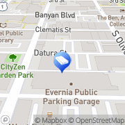 Map evolutions media West Palm Beach, United States