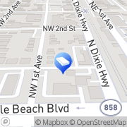 Map Two Men and a Truck Hallandale Beach, United States