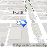 Map Hollywood Solar Hollywood, United States