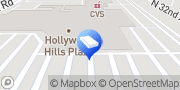 Map H&R Block Hollywood, United States