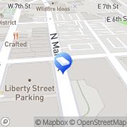 Map Unique Satellite Winston-Salem, United States