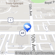 Map Two Men and a Truck Vero Beach, United States