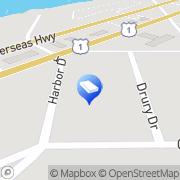 Map A.P.E.com Key Largo, United States