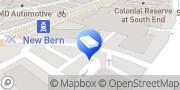 Map Bradham Charlotte, United States