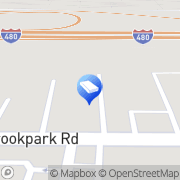 Map Two Men and a Truck Cleveland, United States