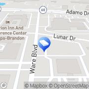 Map Melkus , A.J. - Melkus, Fleming & Gutier Tampa, United States